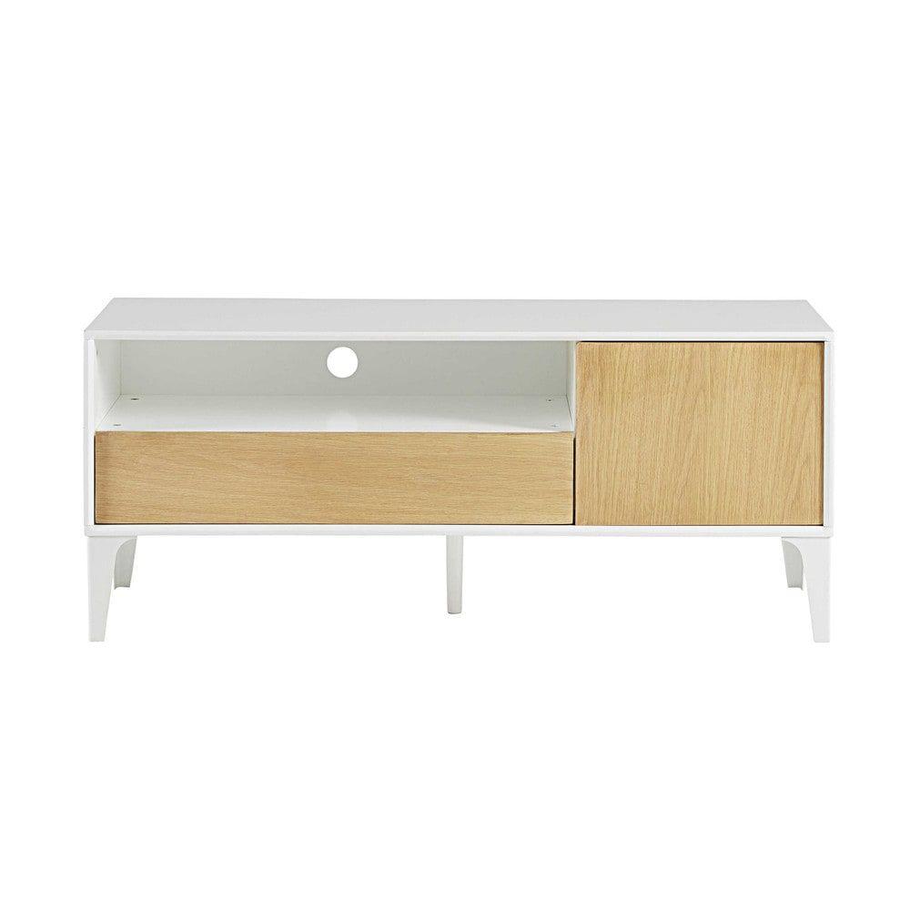 tv meubel met 1 deurtje en 1 lade l 120 cm - Meuble Tv Vintage Andersen