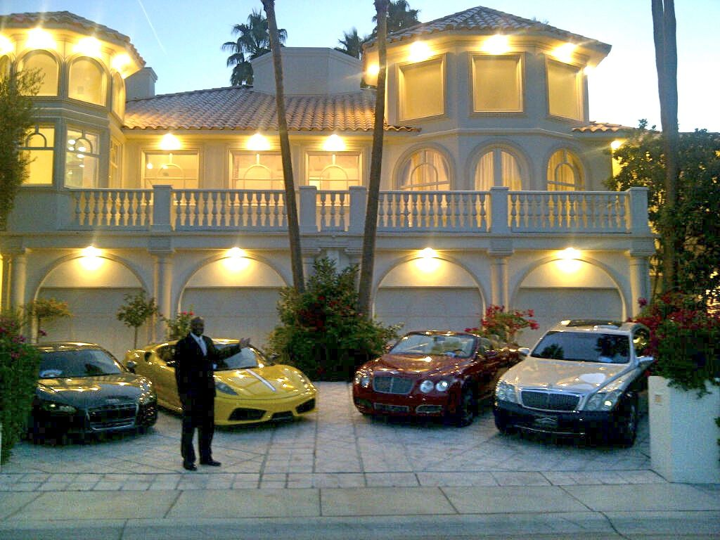 from owning luxury cars to luxury real estates we have it