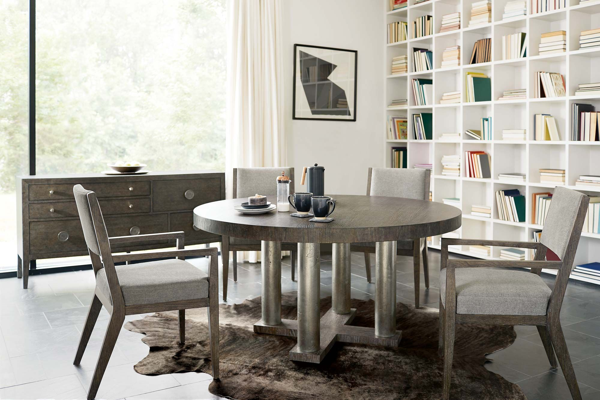 Linea Dining Room Bernhardt Solid Wood Dining Set Casual