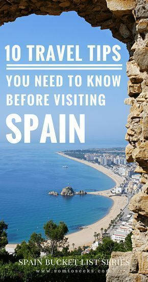 Spain Bucket List: 10 Things You Need to Know Before Visiting Spain -   #before #bucket #CultureTravel #spain #things #visiting