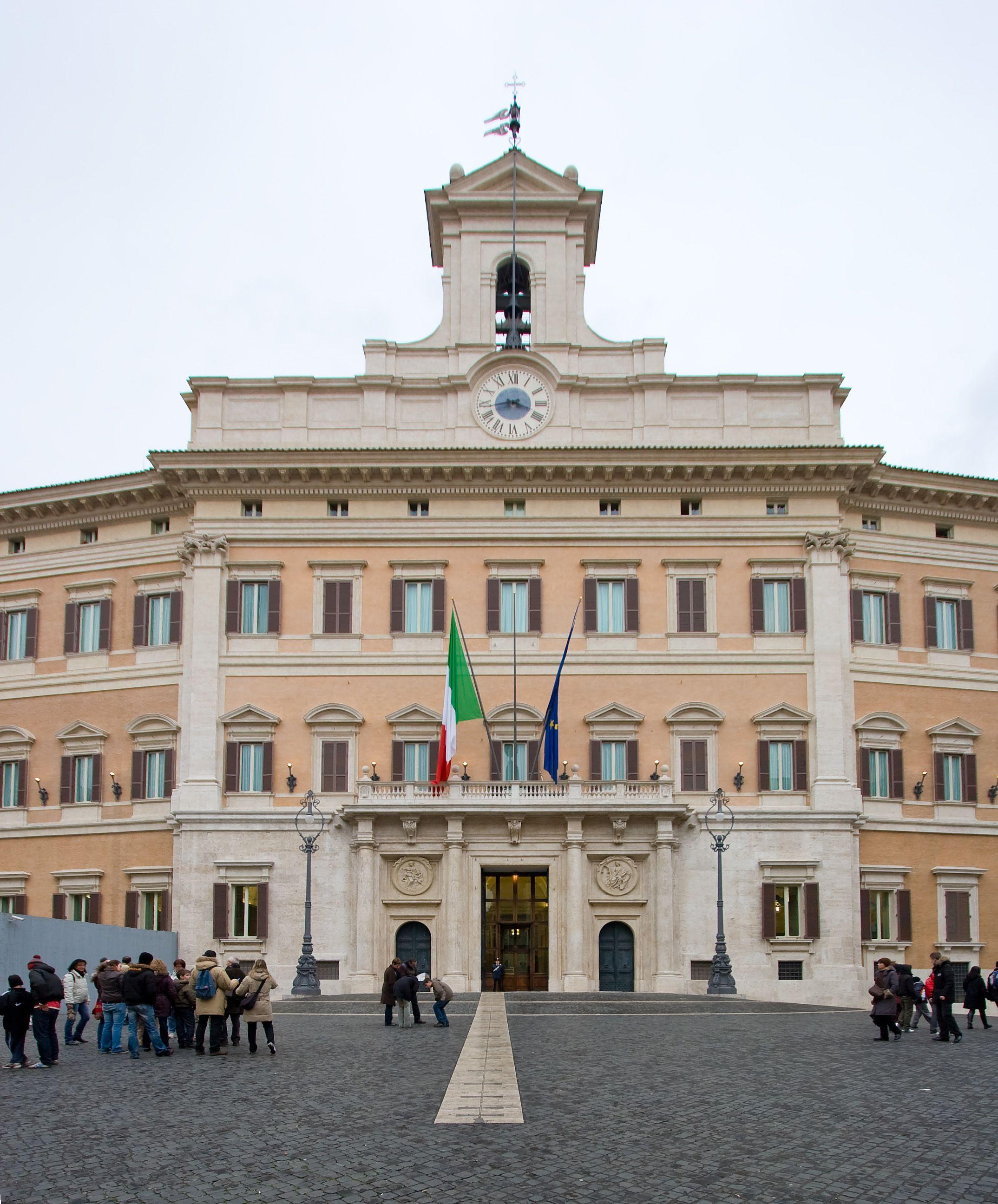 ARCHITETTURA BAROCCA Palazzo Montecitorio a Roma Gian Lorenzo Bernini