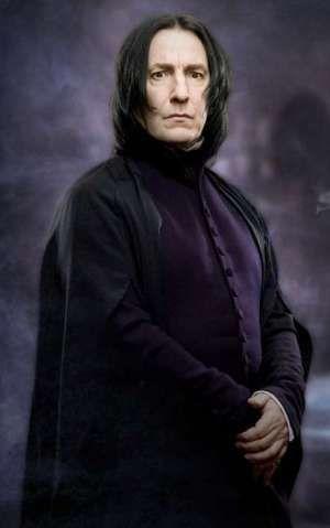 Alan Rickman as Snape 'Harry Potter'