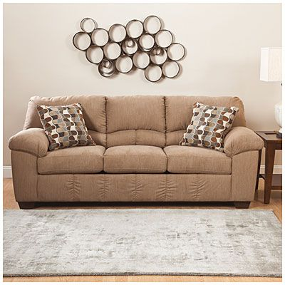 Signature Design By Ashley Parkton Mocha Sofa Reviews RS