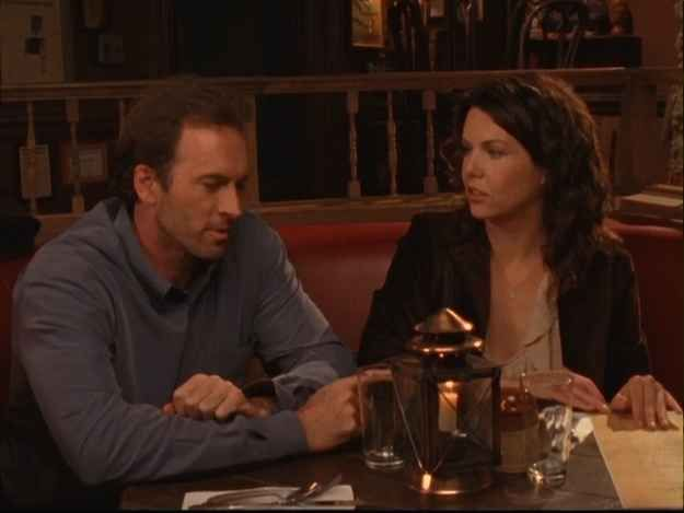 "Two words: THE. HOROSCOPE. | 17 Definitive Reasons Luke And Lorelai Deserved A Better Ending On ""Gilmore Girls"""