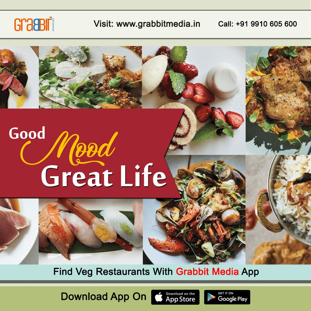 Find Veg Restaurants With Grabbit Media App Veg Restaurant Best Vegetarian Restaurants Veg