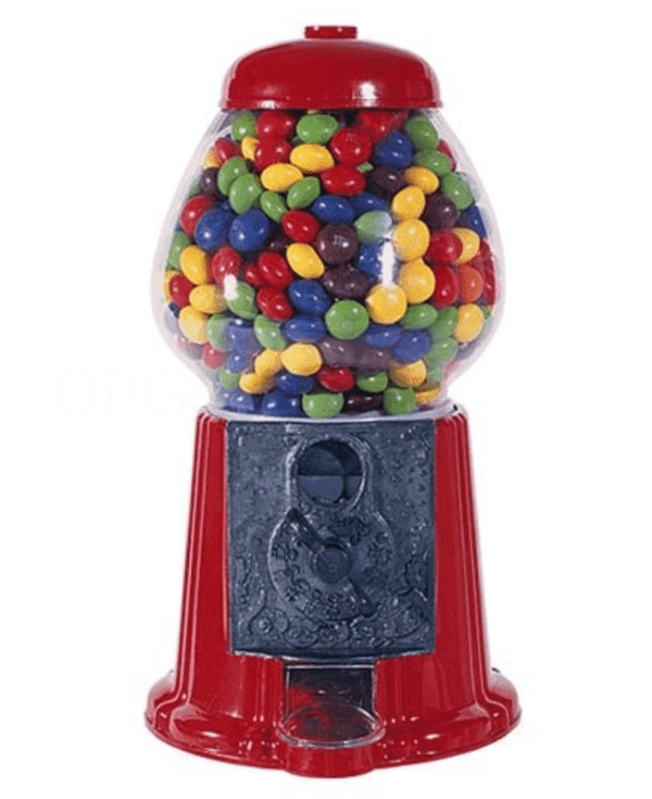 From Cassi For Bethany 3 Gumball Machines With A Supscrption For Candy Every Month Bubble Gum Machine Gumball Machine Bazooka Bubble Gum