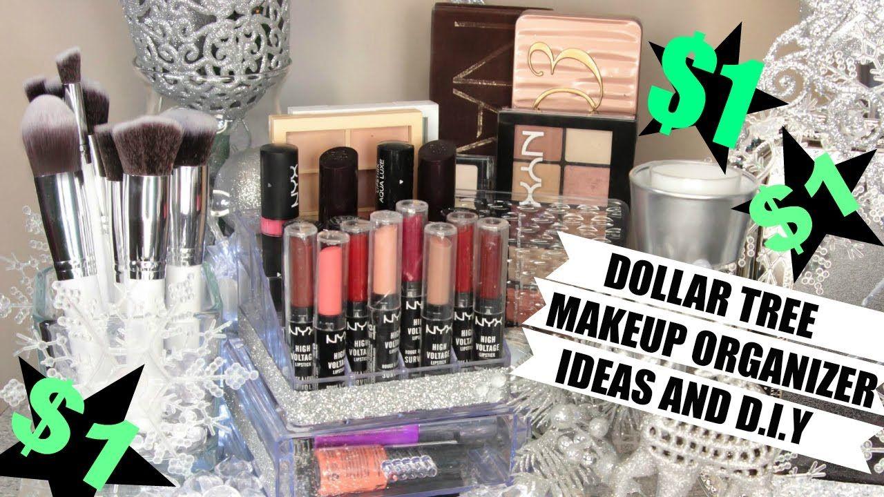 1 Makeup Organizers Dollar Tree Ideas and D.I.Y Makeup