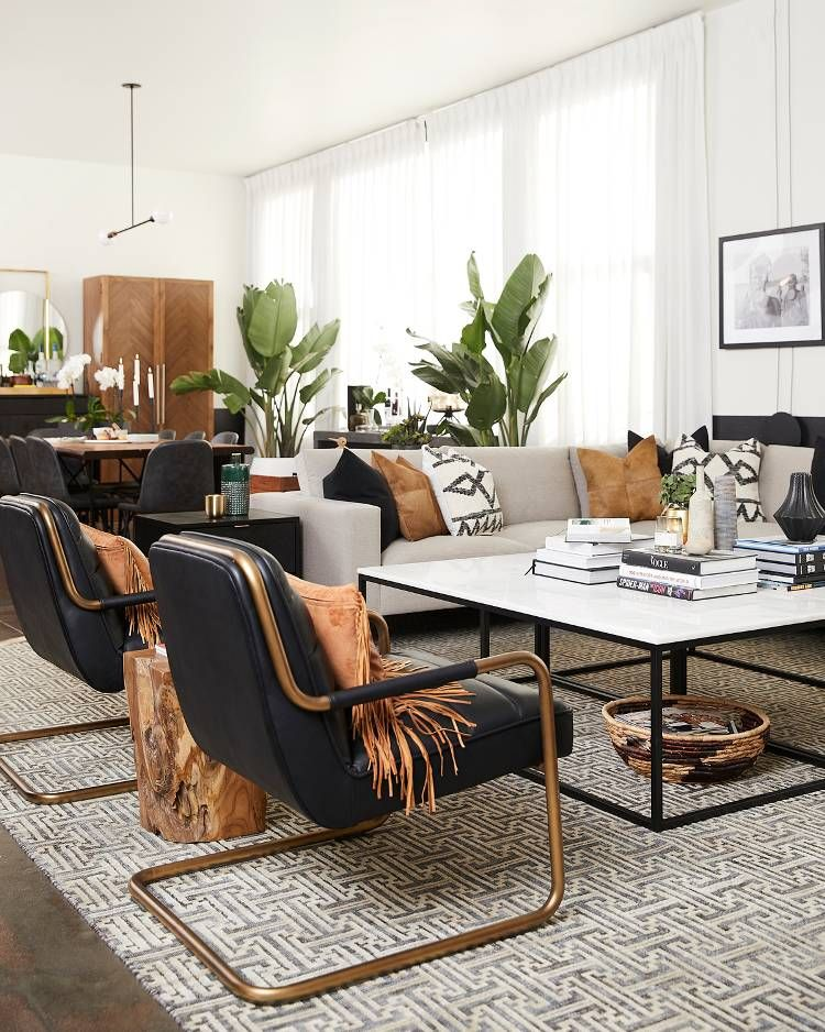 Step inside bobby berk   sophisticated dtla apartment mydomaine modern interiors interior design magazine also queer eye unveiled his best project yet own rh pinterest