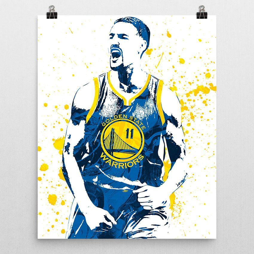 863719d12 Klay Thompson poster. Thompson is an American professional basketball  player for the Golden State Warriors of the National Basketball Association  (NBA).
