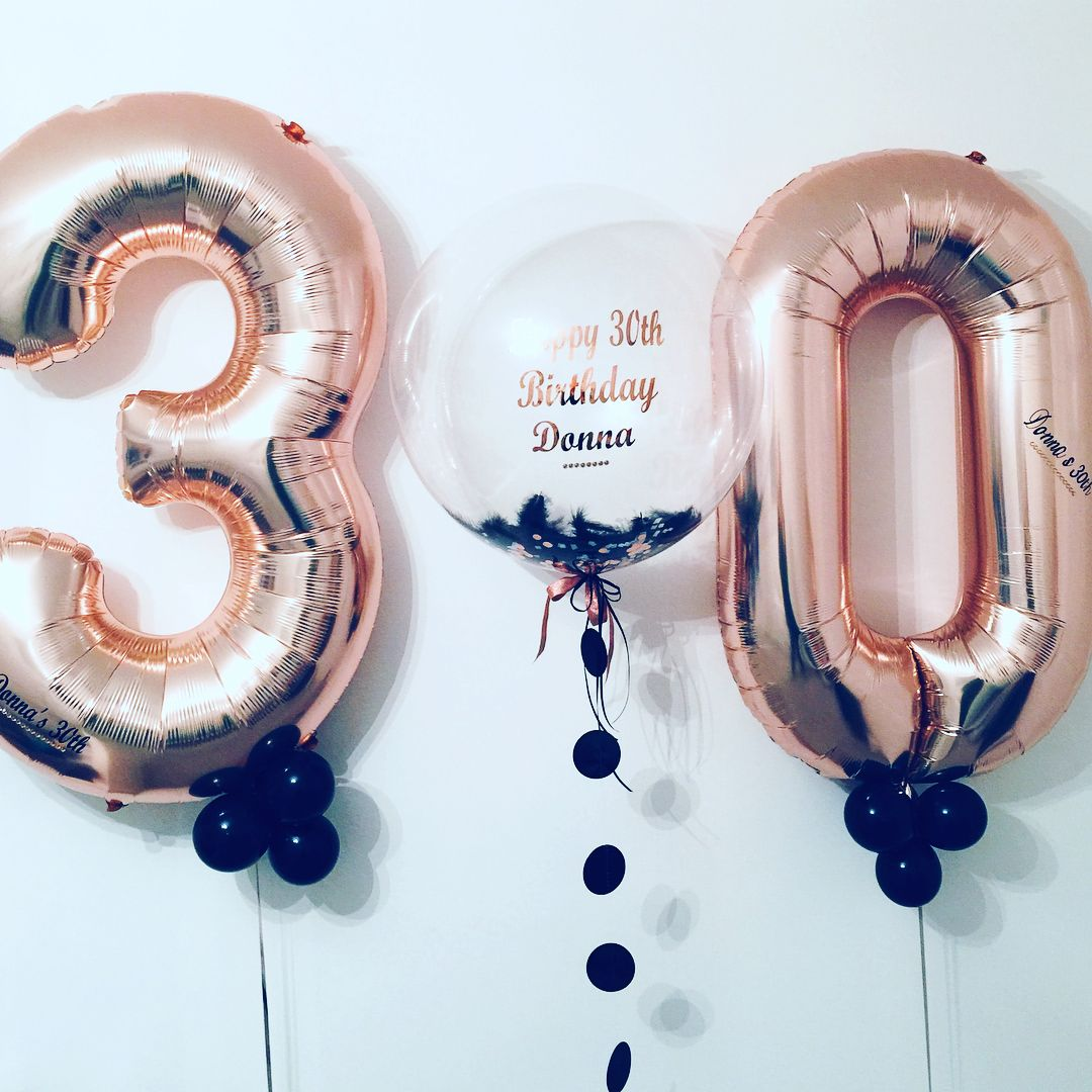 /& Sign # Hashtag Birthday Numbers party Milestone Custom Balloons Letters Hen