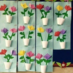 Paper Cup Flower Flower Crafts Spring Crafts For Kids Paper Cup Crafts