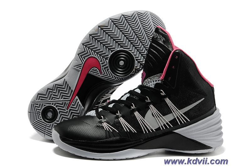 Black Grey Pink Nike Hyperdunk 2013 Outlet