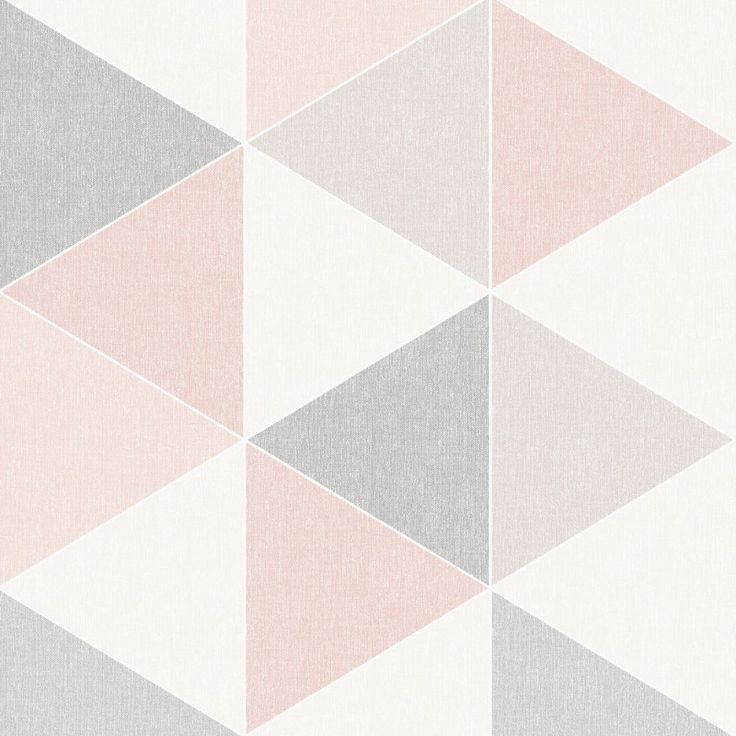 Best Scandi Geo Triangle Wallpaper Pink And Grey Arthouse 400 x 300
