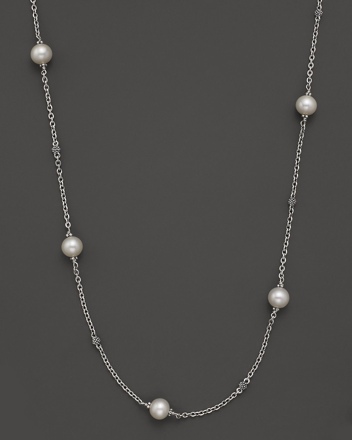 Lagos Pearl Necklace, 18L