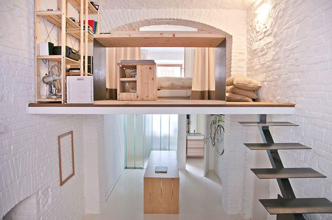 Small Studio Apartment Design 036