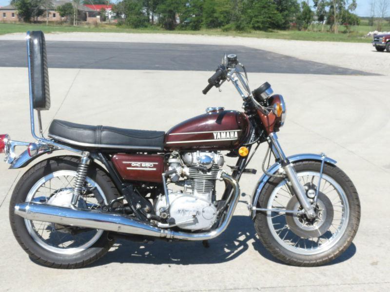 1974 Yamaha 650 1974 Yamaha Tx650 Motorcycle Yamaha 650 Tx650