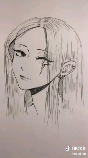 Tiktok Drawing Video Anime Drawings Sketches Manga Drawing Tutorials Anime Drawings Tutorials