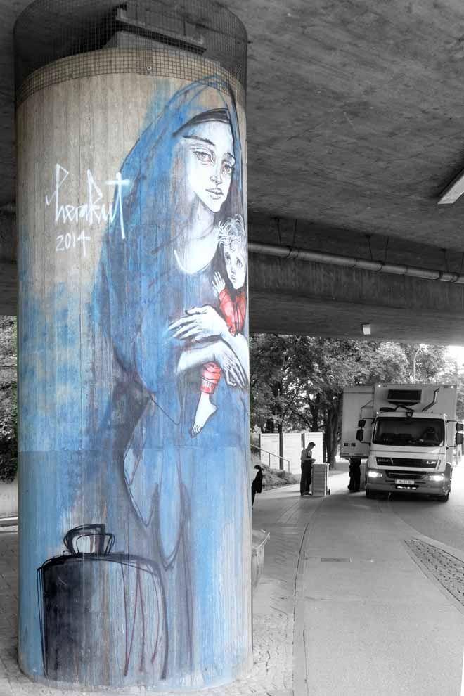 minza will sommer pinterest street art street and graffiti. Black Bedroom Furniture Sets. Home Design Ideas