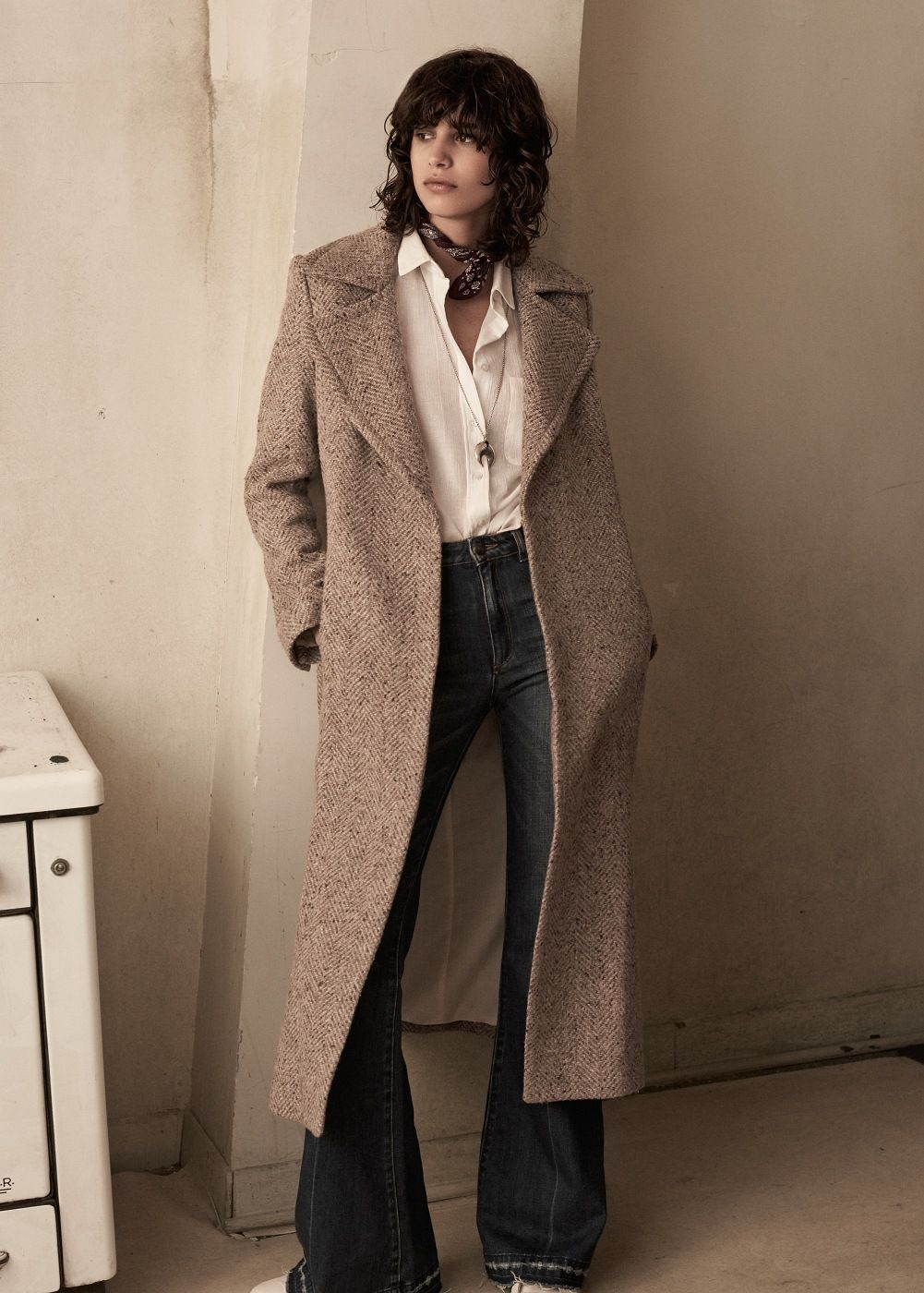 7867974cf84 Premium - abrigo largo lana - Mujer en 2019 | Moda que mola: winter ...