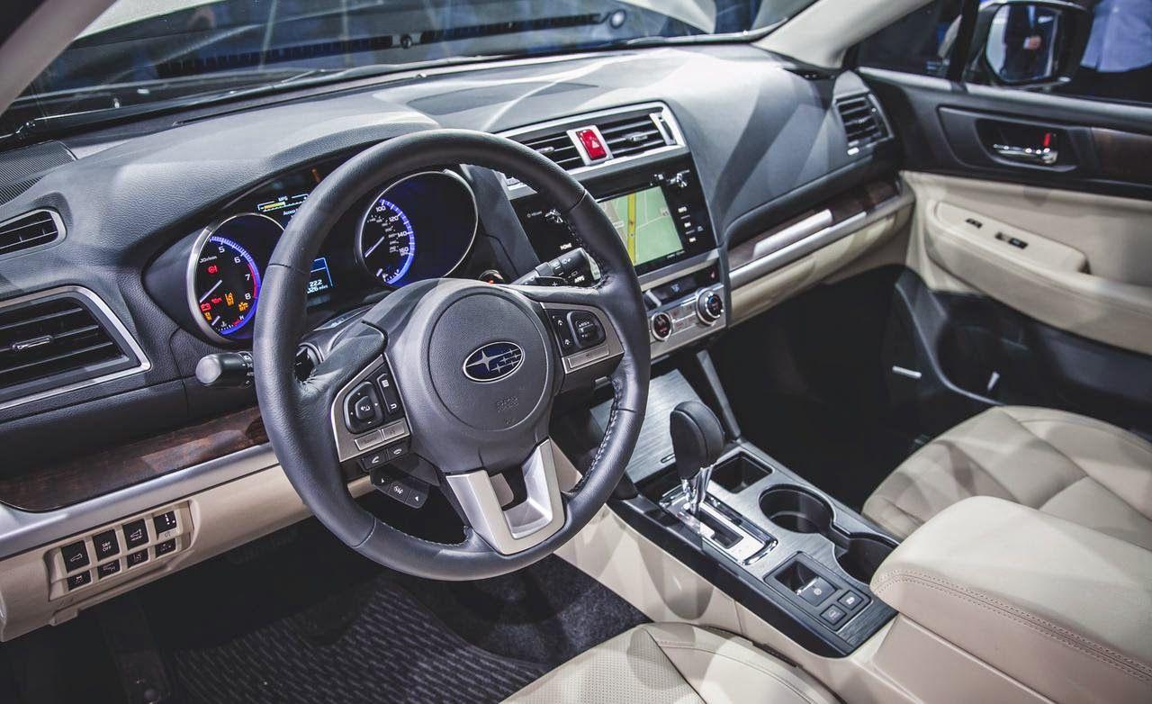 Subaru Outback (2015) Interior Subaru outback, Subaru