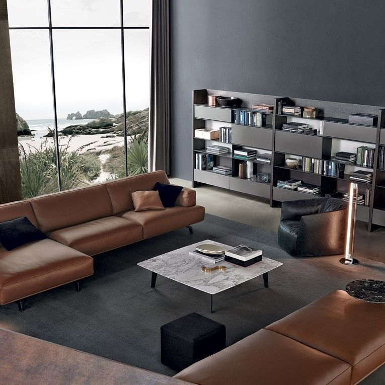 Poliform Tribeca Richlin Interior Design Modern Home Furniture