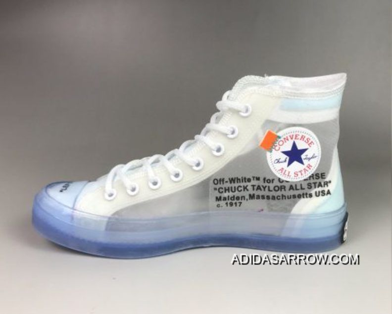 Off White X Converse Chuck Taylor 70 Clear White White Copuon Chuck Taylors Converse Chuck Taylor White Chuck Taylors