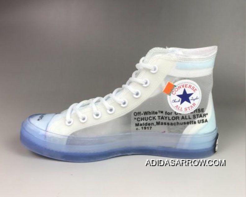 18f3dcb162 Off-White X Converse Chuck Taylor 70 Clear/White-White Copuon in ...