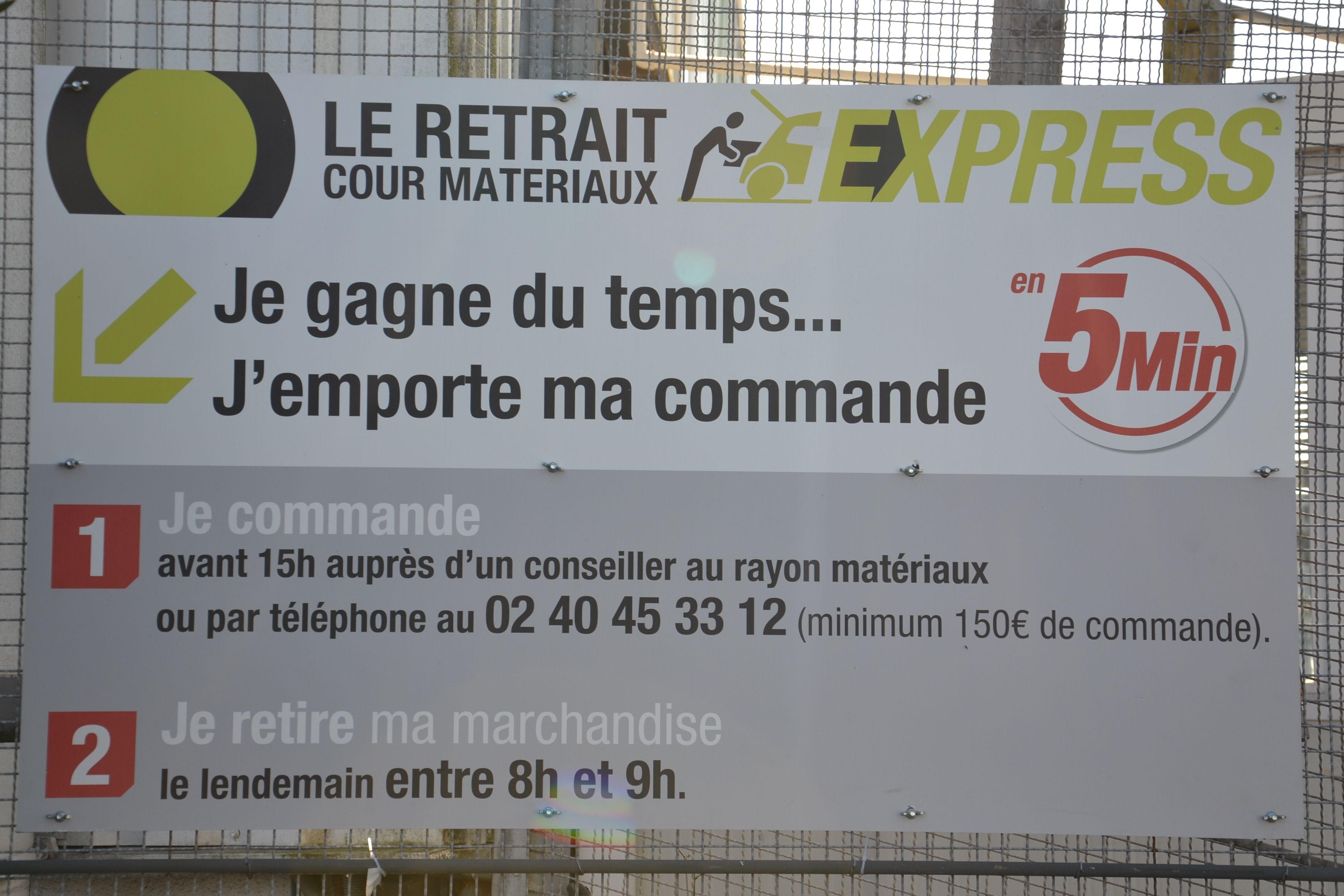 Service Retrait Commande Express Retraitcommandeexpress Equipe Magasin Leroymerlintrignac Trignac Loirea Loire Atlantique Equipe Magasin Leroy Merlin