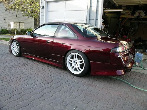 Black Cherry Car Paint Picture Wallpaper Nissan 240sx Colors