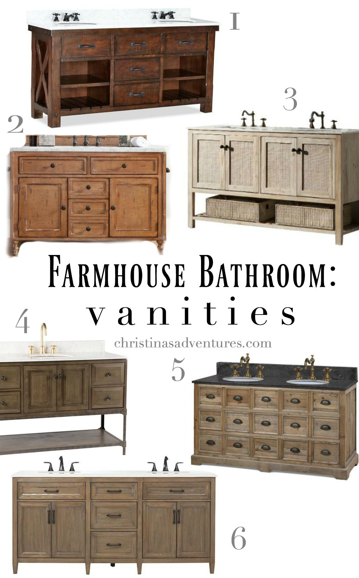 Farmhouse Bathroom Design Elements And Sources Rustic Bathroom