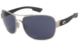 af4f66a1f Costa Del Mar Sunglasses - Cocos- Glass / Frame: Palladium Lens: Polarized  Dark Gray 400 Glass Costa Del Mar. $176.99