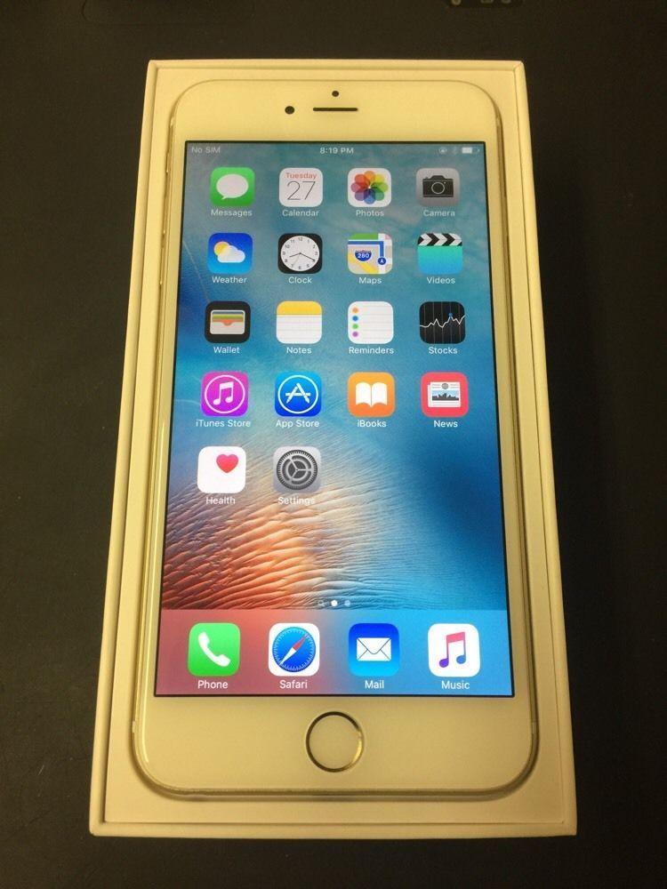 UNLOCKED Apple iPhone 6 Plus (Latest Model) 64GB Gold