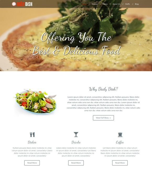 Check out Daily Dish by chinmoy29 on Creative Market