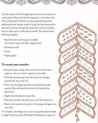 How to transfer designs to skin henna #henna #skinart #tattoo