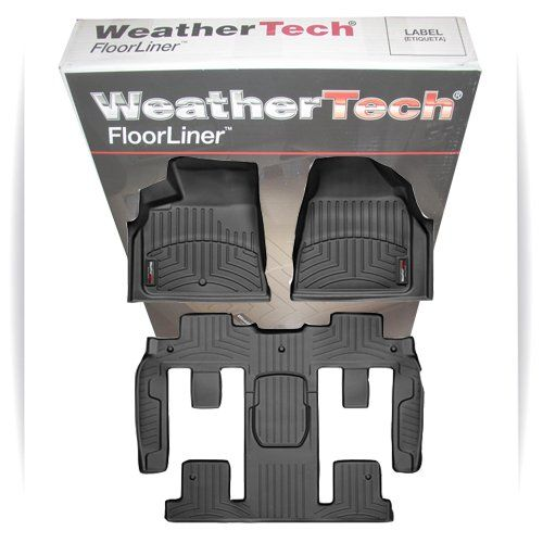 Full Set Weathertech All Weather Custom Fit Floor Mat