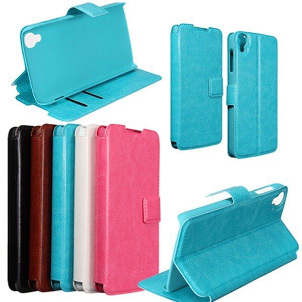 Mohoo Magnetic Flip Leather Case Stand For Alcatel One Touch idol 3 4.7\'\'/5.5\'\'