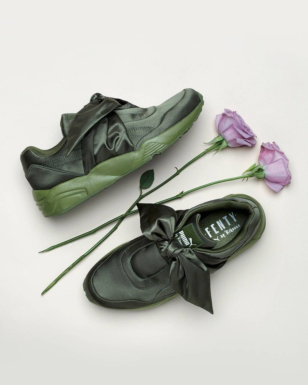 683ab22356 the Fenty x Puma Bow Collection is available now - link in bio #puma # rihanna #bdgastore