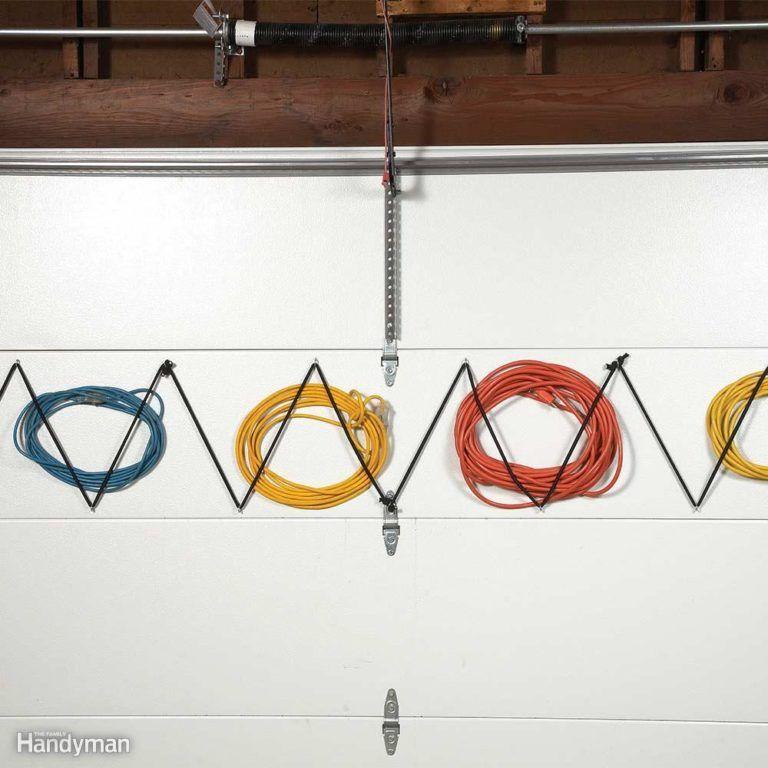 Extension Cord Storage : Garage door extension cord storage choochery pinterest