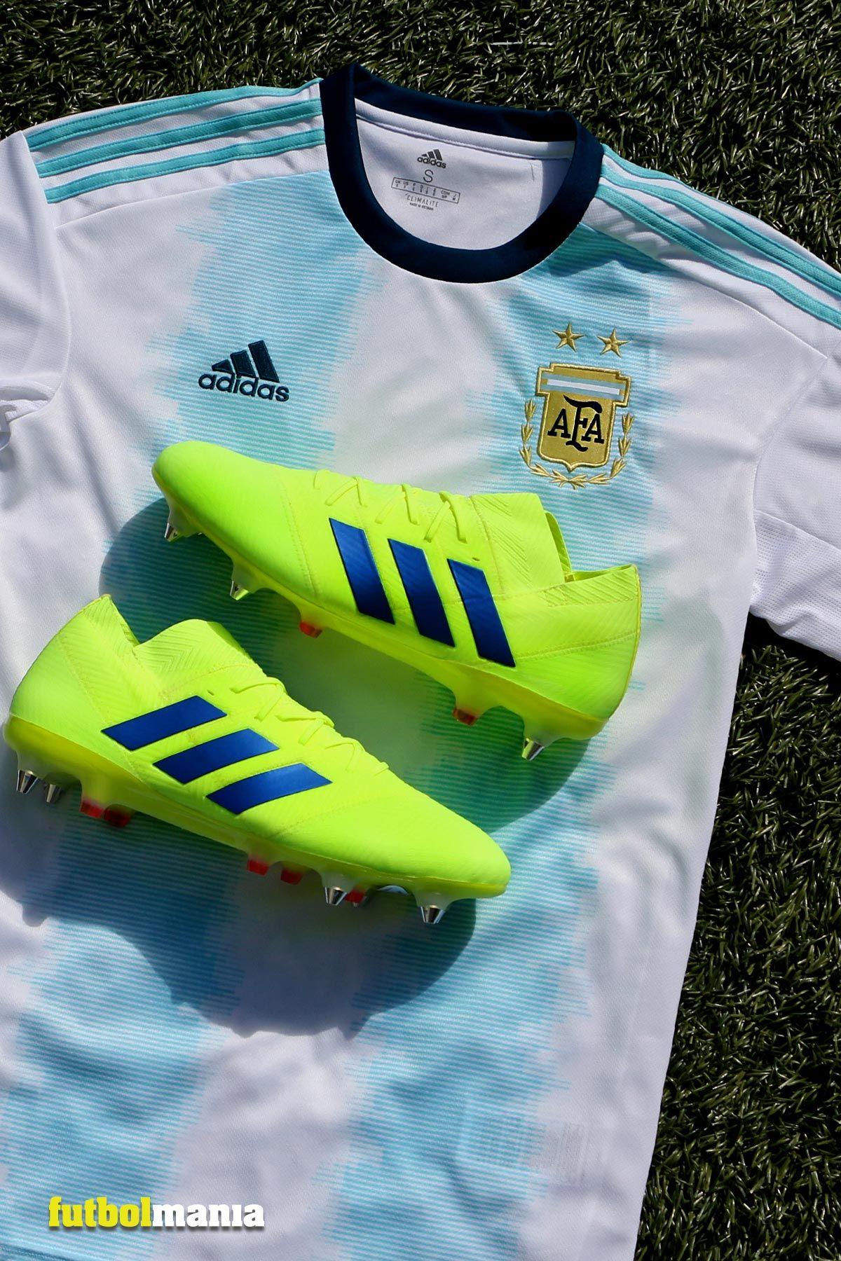 Camisetas de Adidas para Rusia 2018, diseñadas con un toque