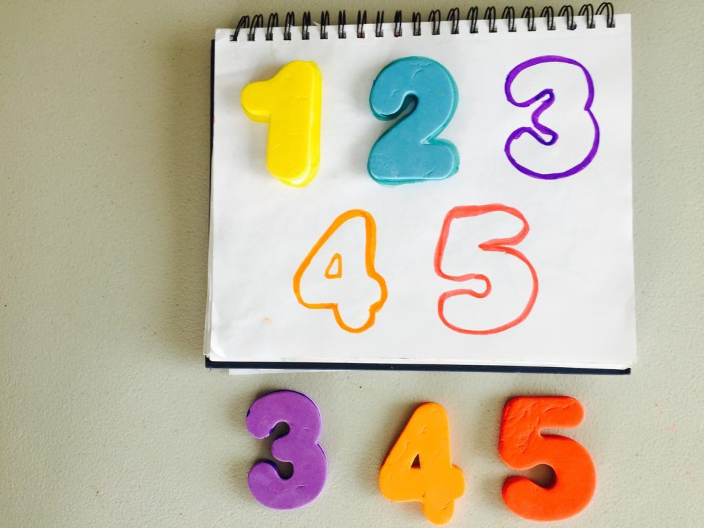 Matching Numbers Activity 25 Activities For Toddlers Activities For 18 24 Month Old