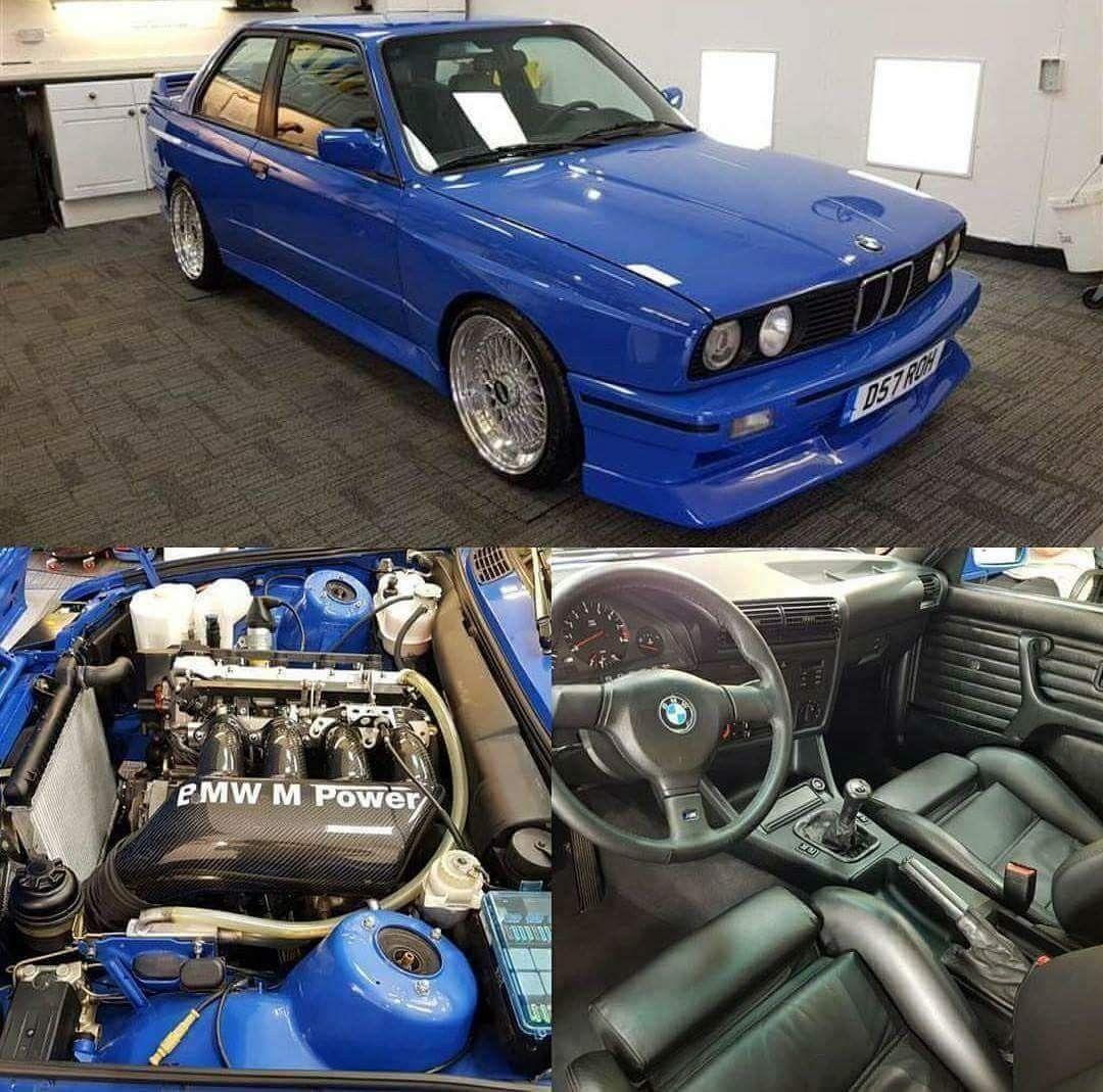 Bmw E30 M3 Blue With Images Bmw E30 Bmw E30 M3 Bmw