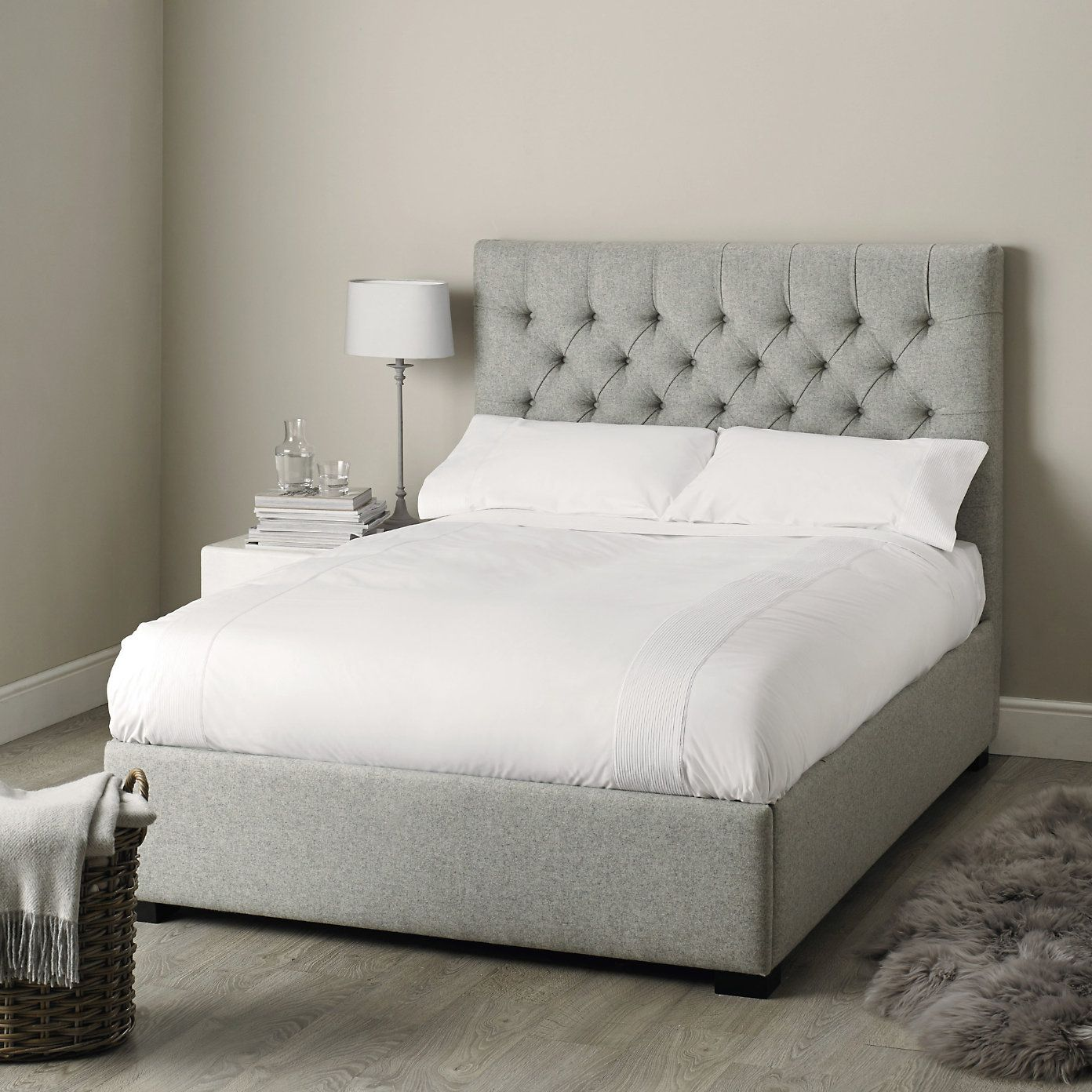 Richmond headboard beds the white company recamaras