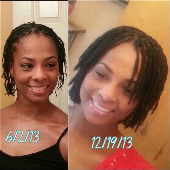 Starter Locs Before and After | months of growth!#starter locs