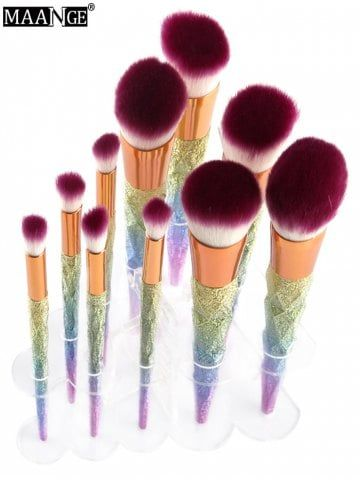 maange brush holder makeup brush stand  makeup brushes