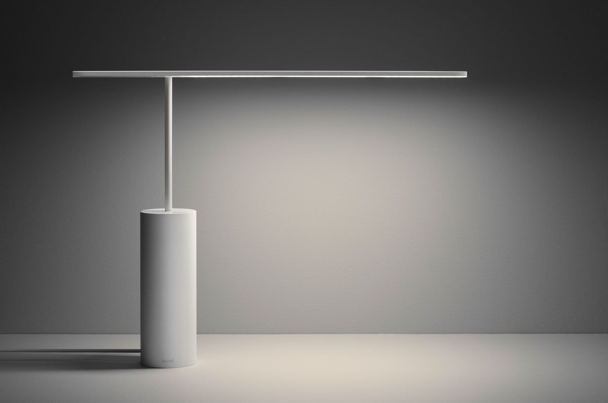 The Level Desk Lamp Is A Collaboration Between Permafrost