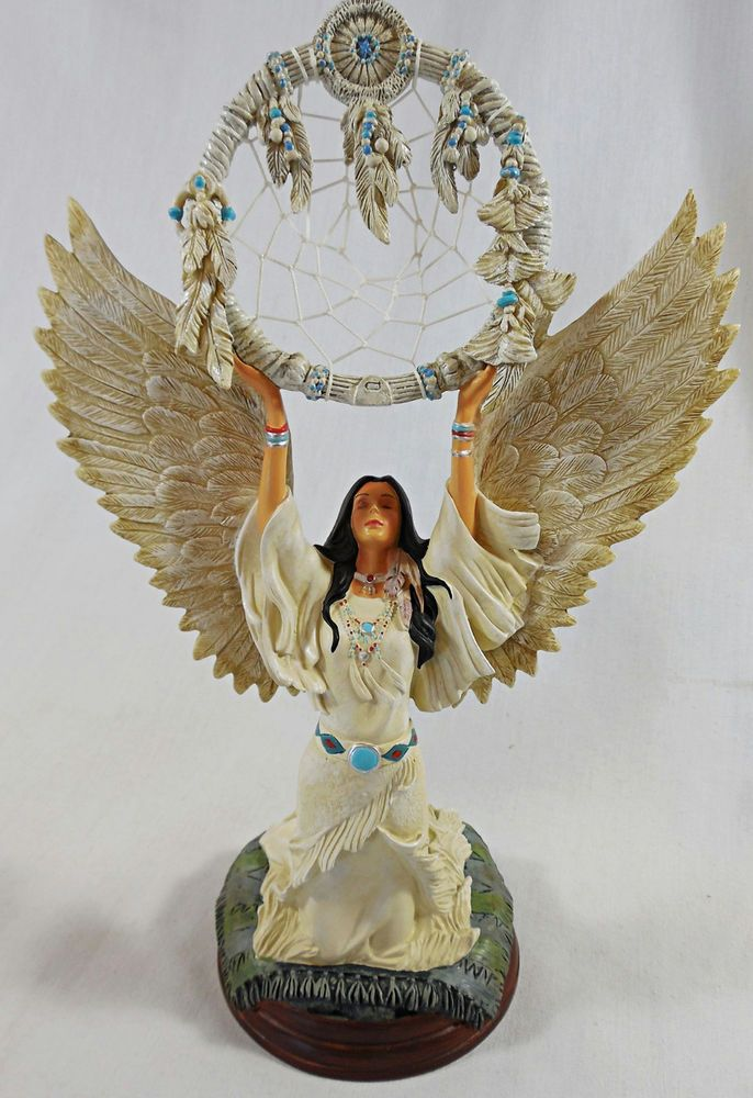 Bradford Exchange 'Sacred Calling' Native Dreams Woman Figurine, Limited Edition | Angel, Fairy ...