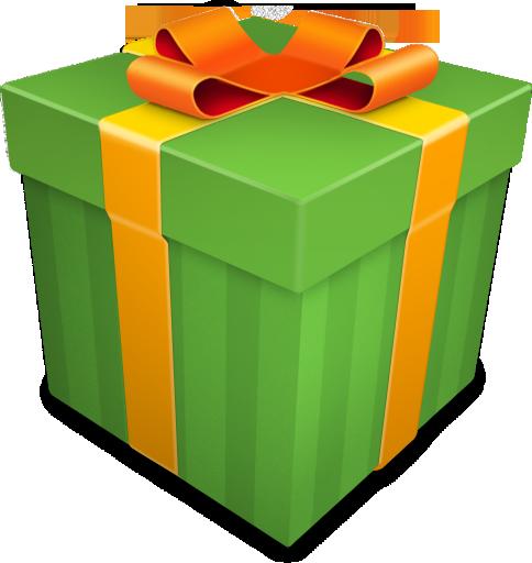 Christmas Gift Green Icon Christmas Gift Icons Softicons Com