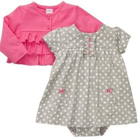 246477966 Vestido Para Niña 6meses Marca Carter´s-original!!!!! - U S 28