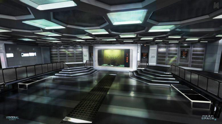 cyberpunk atmosphere future sci fi futuristicinterior dead space concept art sci fi. Black Bedroom Furniture Sets. Home Design Ideas