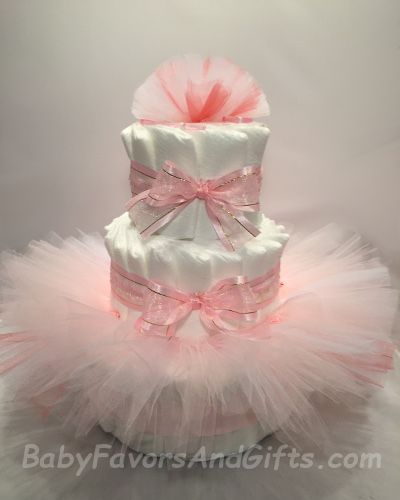 ballerina tutu diaper cakes baby shower ballerinas safe diapers shower